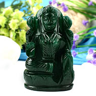 Laxmi in Green Jade-247 gms