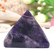 Pyramid in Natural Amethyst - 283 gms