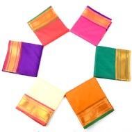Art silk dhoti with Shawl - Design II
