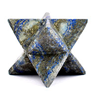 Star Pyramid in Natural Lapis Lazuli - 244 gms
