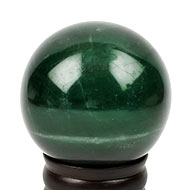 Columbian Green Jade Ball - 890 gms