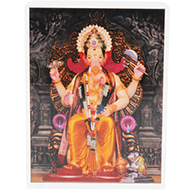 Lalbaug Raja Glittering Photo