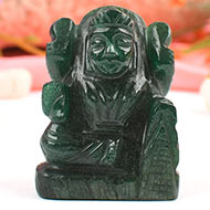 Laxmi in Green Jade - 79 gms