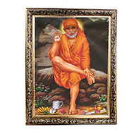 Lord Sai Baba Photo - Medium
