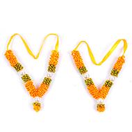 Deity bead Garlands - Set of 2 - Design XVI