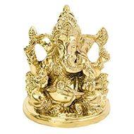 Ganesha in Brass - IX