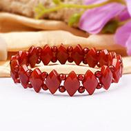 Red Carnelian Bracelet - Design X
