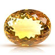 Yellow Citrine - 33 carats - Oval