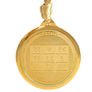 Ketu Yantra Locket - Gold Plated