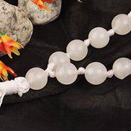 White Agate Sumarni mala