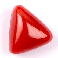 Italian Coral triangular - 7.50 carats