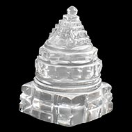 Shree Yantra in Sphatik - 41 gms