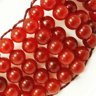 Red Carnelian Multi Beads Bracelet