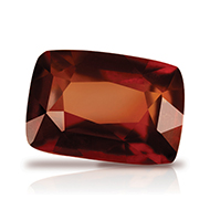 Hessonite Garnet - Gomed - 12.75 Carats - Cus..