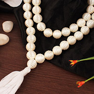 Pearl Mala - Carving