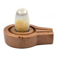 Bana Lingam with Stone Yoni base - LXXXIX