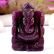 Ruby Ganesh - 160 carats