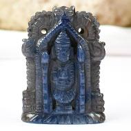 Tirumalai Balaji in Blue Sapphire-70.90 carats