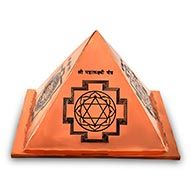Prosperity Yantra Pyramid in Copper