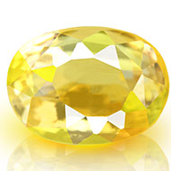 Yellow Sapphire - 4.01 carats - Oval