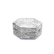 Pure Silver Container - Hexagon