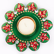Flower Candle Decorative - I