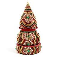 Decorative Puja Kalash - III