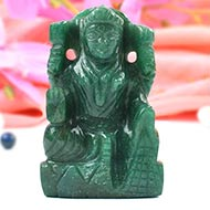 Laxmi in Green Jade - 127 gms