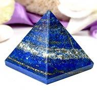 Pyramid in Natural Lapis Lazuli - III