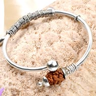 2 mukhi Moon bracelet from Java  - Design I