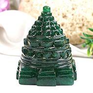 Green Jade Shree Yantra - 139 gms - I
