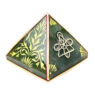 Green Jade Pyramid For Desire Fulfillment