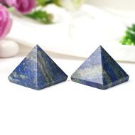 Lapis Lazuli Pyramid - Set of 2
