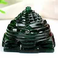 Green Jade Shree Yantra - 54 gms