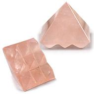 Multi Pyramid in Rose Quartz - 18 gms