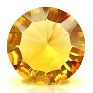 Yellow Citrine Superfine Cutting - 12.80 carats - Round