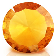 Yellow Citrine Superfine Cutting - 3.25 carats - Round
