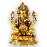 Ganesha in Brass - XX