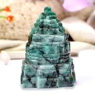 Emerald Shree Yantra - 589 carats