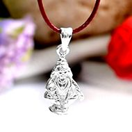 Ayyappa Pendent in pure silver - II