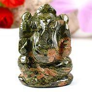 Unakite Ganesha-104 gms
