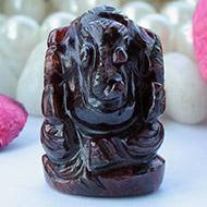 Gomed Ganesha - 103 Carats