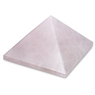 Pyramid in natural Rose Quartz - 90 gms