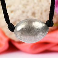 Lingam shape Parad Gutika Pendant in thread - 22 to 24mm