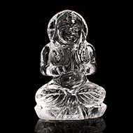 Sphatik Crystal Parvati - 39 gms