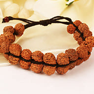 Gauri Shankar Wrist Mala in thread