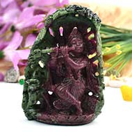 Enchanting Ruby Krishna - 475 gms