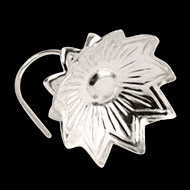 Pure Silver Lotus - Set of 2