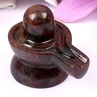 Gomed Hessonite Shivlinga - 103 gms