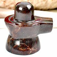Gomed Hessonite Shivlinga - 95 gms